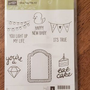 Stampin' Up! - One Tag Fits All